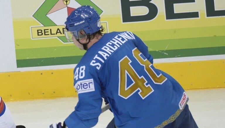 Astanas 'Baris' līdz oktobrim paliek bez uzbrucēja Starčenko