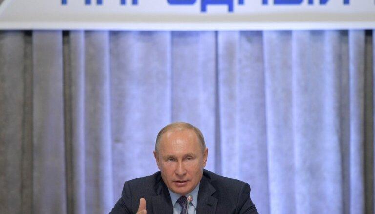 'Twitter' izdzēš viltus Putina kontu