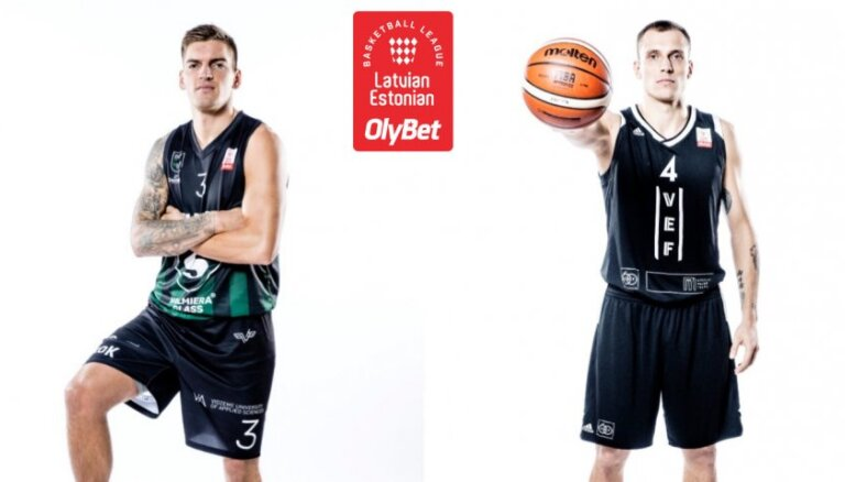 'OlyBet' basketbola līga: 'Valmiera glass/ViA' - 'VEF Rīga'. Video tiešraide