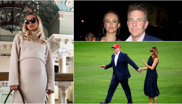 Nedēļas trakumi: Latvijas stilīgākā grūtniece, Kveida un Auziņas šķiršanās, Trampas kurpītes