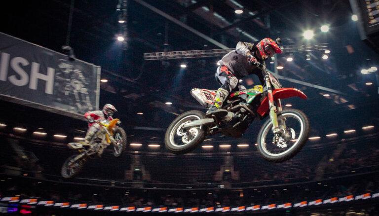 Vēl 10 titulēti sportisti apstiprinājuši dalību 'Arenacross' Baltijas kausa sacensībās