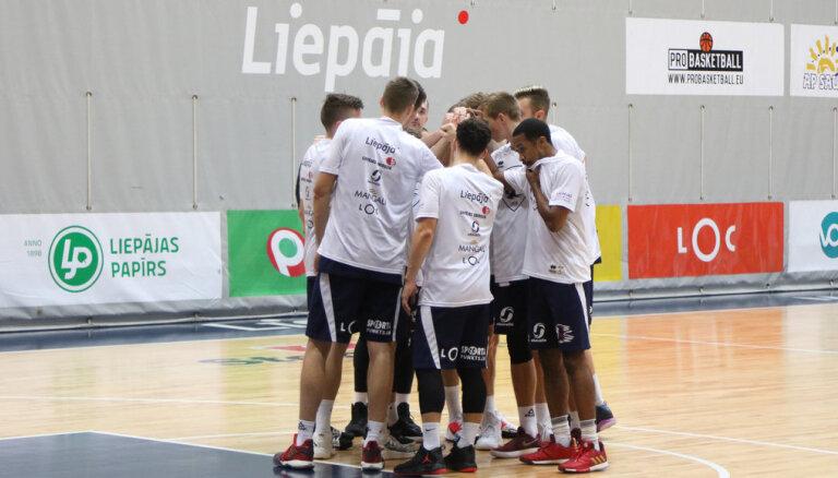 'Liepājas' basketbolisti piekāpjas 'TalTech' komandai