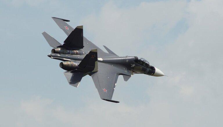 Минобороны РФ прокомментировало видео перехвата Су-30 над Балтикой
