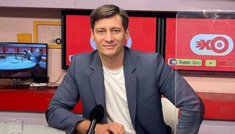 Оппозиционный политик Дмитрий Гудков покинул Россию