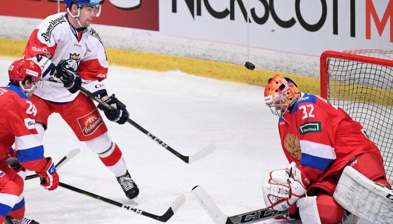 Сборная России победила Чехию, но осталась без трофея на Шведских играх
