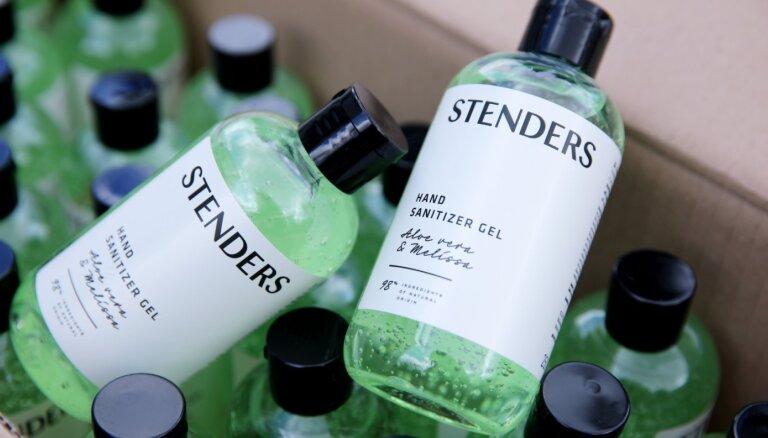 'Stenders' uzsāk roku dezinfekcijas līdzekļu ražošanu