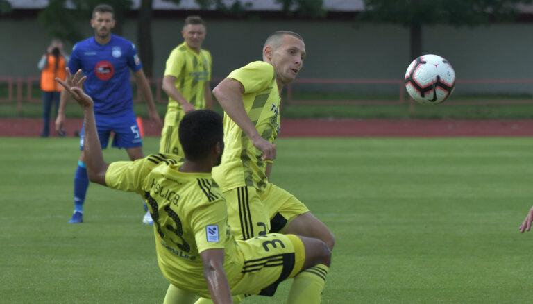 'Ventspils' futbolisti sensacionāli Latvijas kausa astotdaļfinālā zaudē pirmās līgas līderei 'Tukums 2000'/TSS