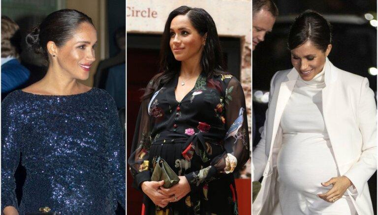 ФОТО: Лучшие наряды беременной Меган Маркл