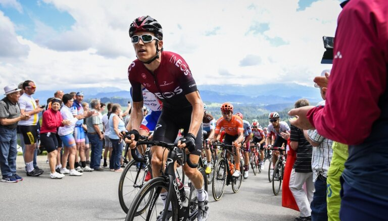 Arī pagājušā gada 'Tour de France' čempions Tomass piedzīvojis smagu kritienu