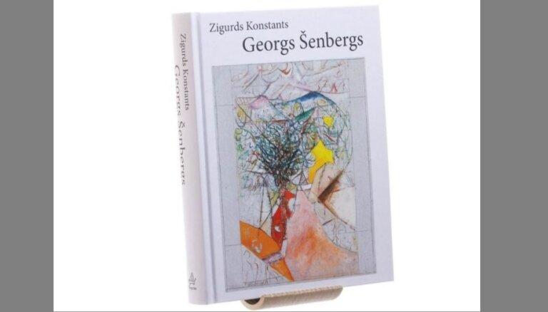 Izdota Zigurda Konstanta monogrāfija par mākslinieku Georgu Šenbergu