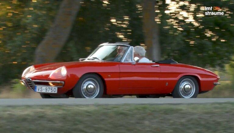 Timrots atzīst par pedantiskāko auto Latvijā – eleganti restaurētais 60. gadu 'Alfa Romeo'