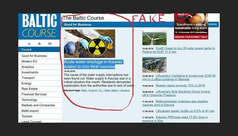 Noticis hakeru uzbrukums portālam 'The Baltic Course'
