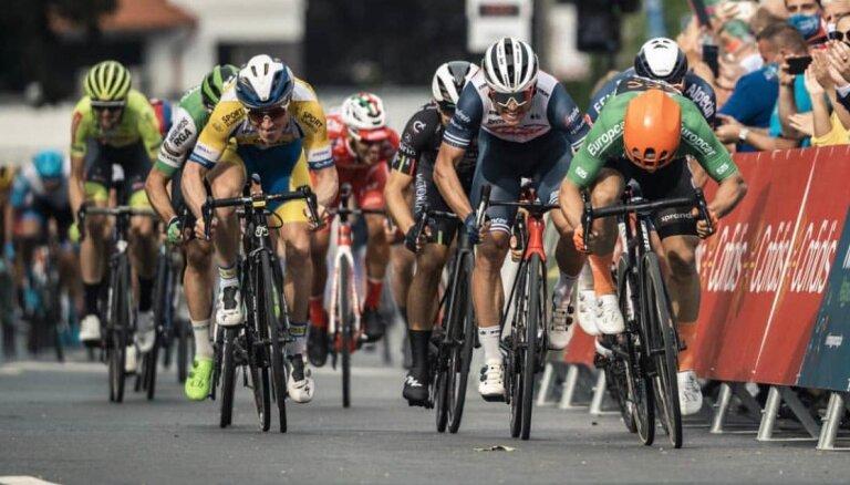 Liepiņam 13.vieta 'Baloise Belgium Tour' trešajā posmā