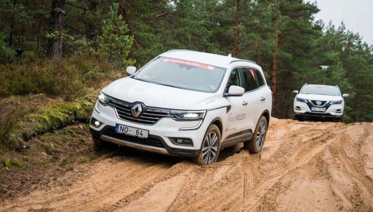 Foto: Žūrija vērtē 'Latvijas Gada auto 2018' pretendentus lielajā testa braucienā