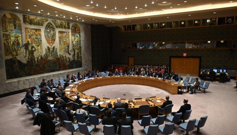DĀR pieprasa lielāku Āfrikas valstu pārstāvniecību ANO Drošības padomē