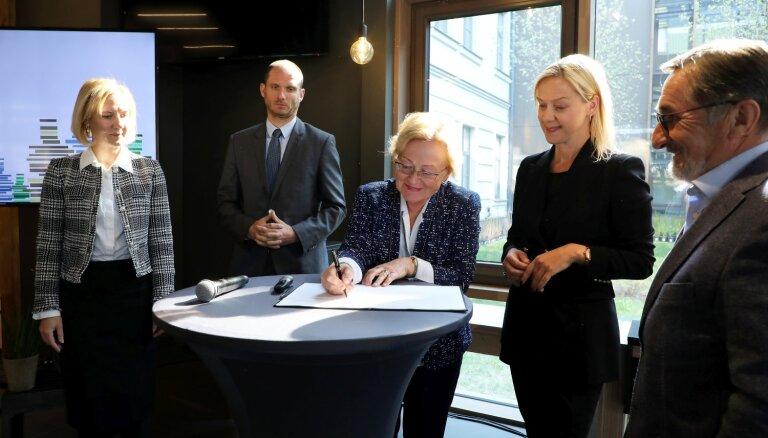 Pārtikas ražotāji parakstījuši memorandu depozīta sistēmas atbalstam