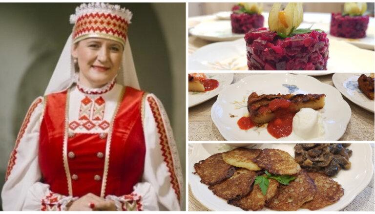 'Īstās Latvijas saimnieces' piedāvā: baltkrievu receptes no Jeļenas Grīsles