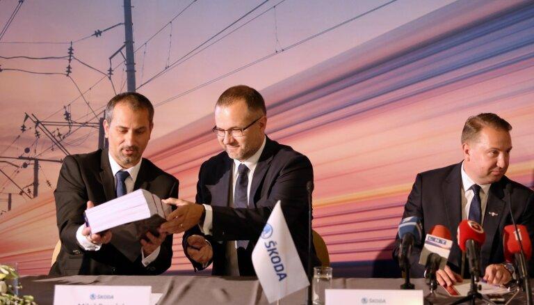 Noslēdz līgumu par 32 elektrovilcienu piegādi; pirmie vilcieni gaidāmi 2022. gada pirmajā pusē