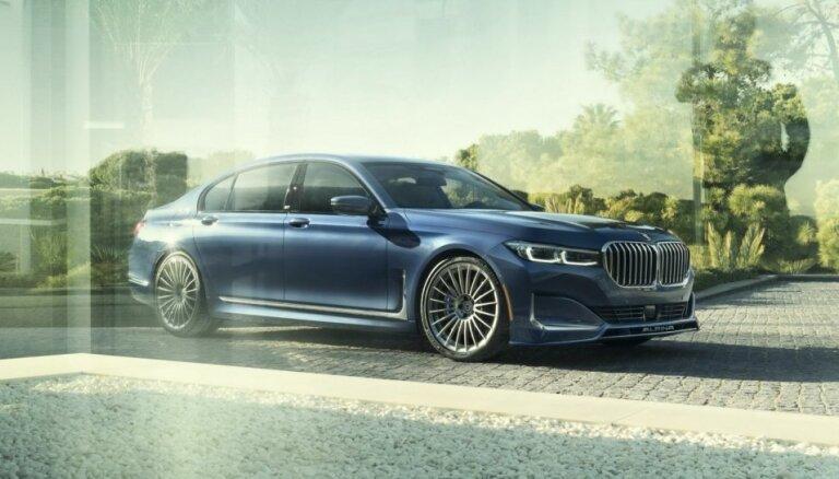 'Alpina' modifikācija uz BMW modernizētā 7. sērijas sedana bāzes