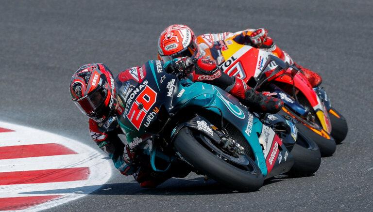 Taizemes 'MotoGP' posms pārcelts uz oktobri