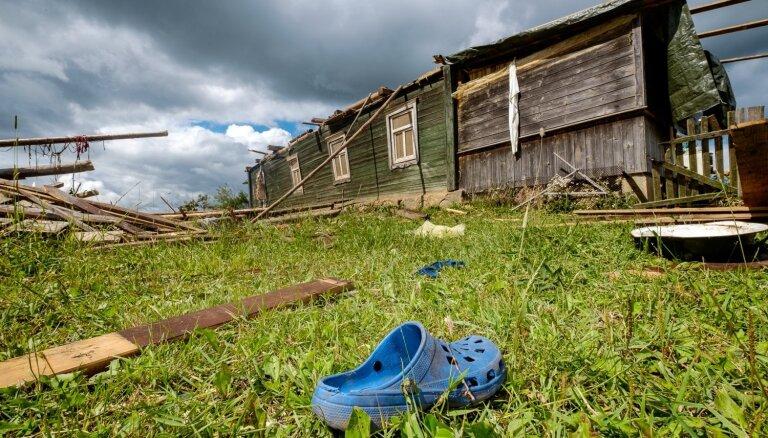 Буря в Латгалии: смерч для Латвии не редкость уже сейчас. Пора привыкать?