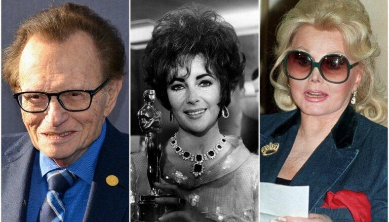 Kad ar vienu nepietiek: slaveni cilvēki – precību rekordisti