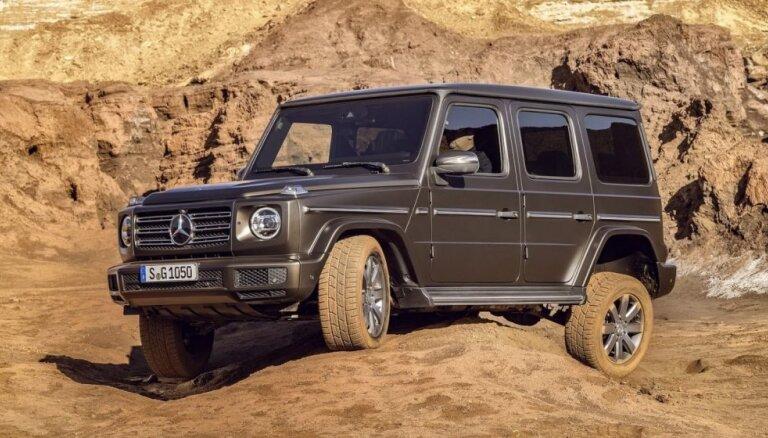 'Mercedes' principiāli jaunās paaudzes G-klases apvidnieks
