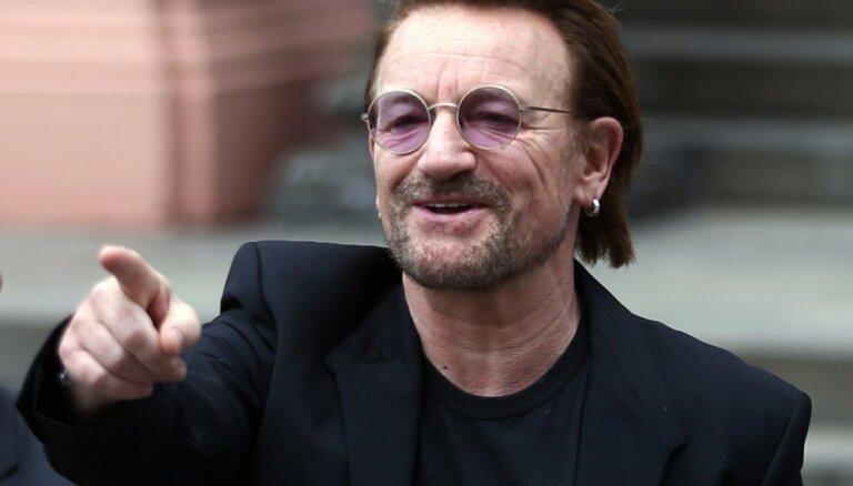 Noskaties! 'U2' līderis Bono sacer dziesmu 'Covid-19' skartajiem itāļiem