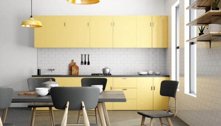 Saules pielieta: 7 idejas virtuves uzfrišināšanai dzeltenā krāsā