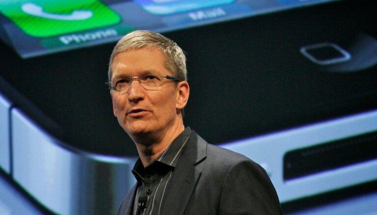 Глава Apple заработал более 9 млн. долларов