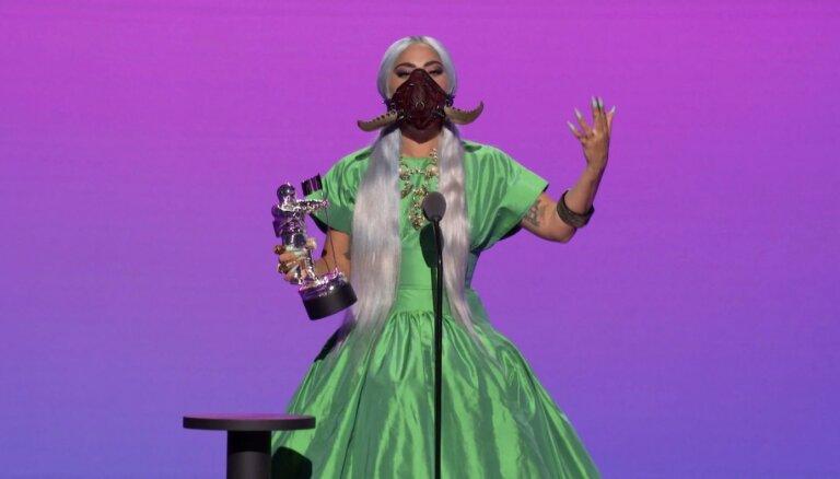 MTV Mūzikas balvu ceremonijā triumfē Lady Gaga