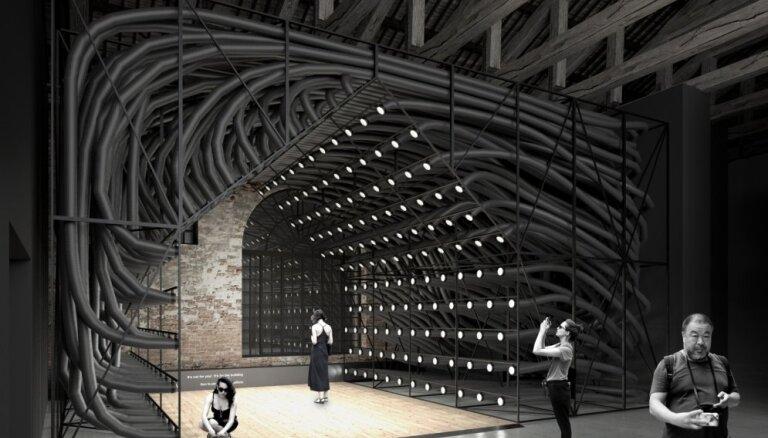 'Spried ar Delfi' par 17. Venēcijas arhitektūras biennāli
