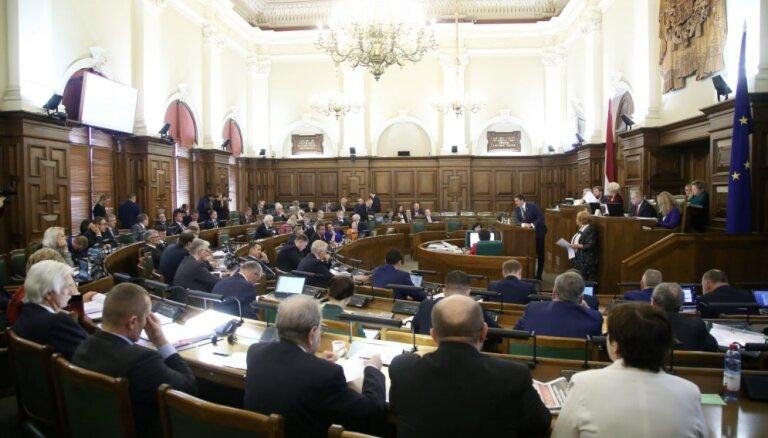 Вопрос дисциплины: ни одного заседания Сейма в 2019 году не пропустили четыре депутата
