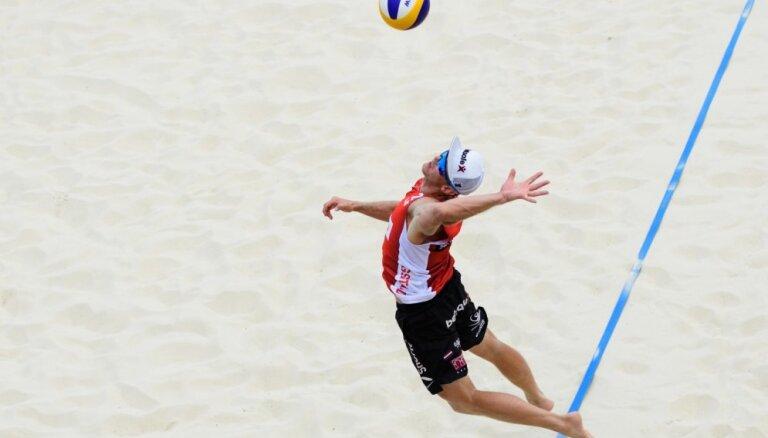 LVF valdībai lūgs 350 000 eiro Eiropas čempionāta pludmales volejbolā norisei