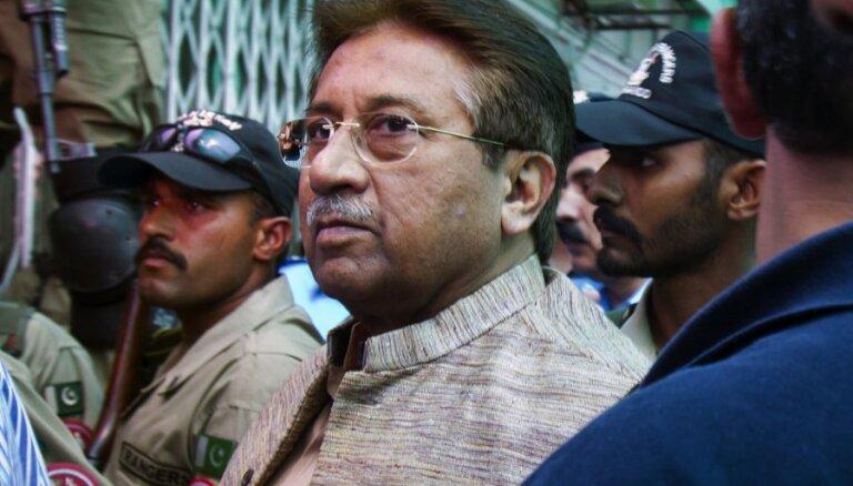 Cмертный приговор бывшему президенту Пакистана Мушаррафу отменен