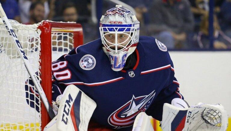 Vārtsargs Kivlenieks izsaukts atpakaļ uz AHL komandu