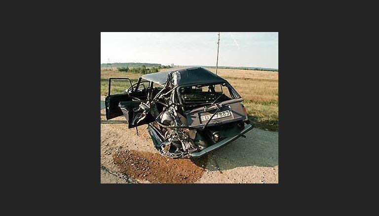 За семь месяцев в автоавариях погибло 307 человек