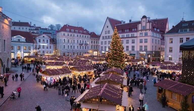 ФОТО: Таллиннская рождественская ярмарка стала лучшей в Европе