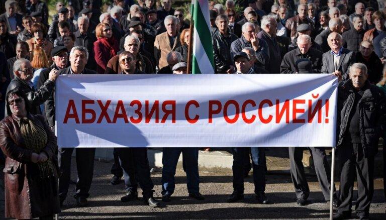 Arī neatzītā Abhāzija ierobežo importu no Turcijas