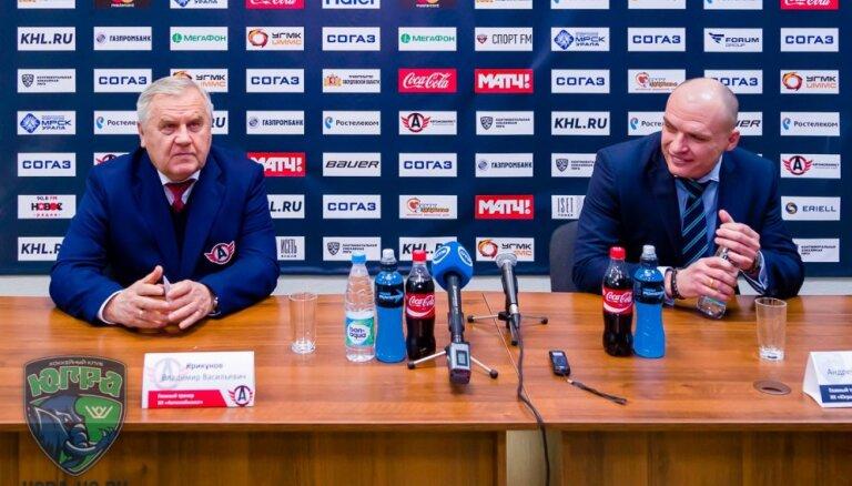 ВИДЕО: Как тренер КХЛ троллит мэтра Крикунова