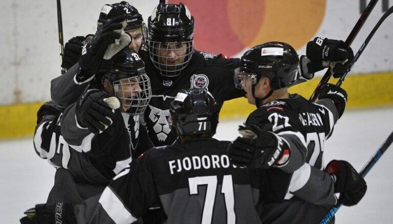 'Rīgas' hokejisti izcīna 'sauso' uzvaru MHL mačā