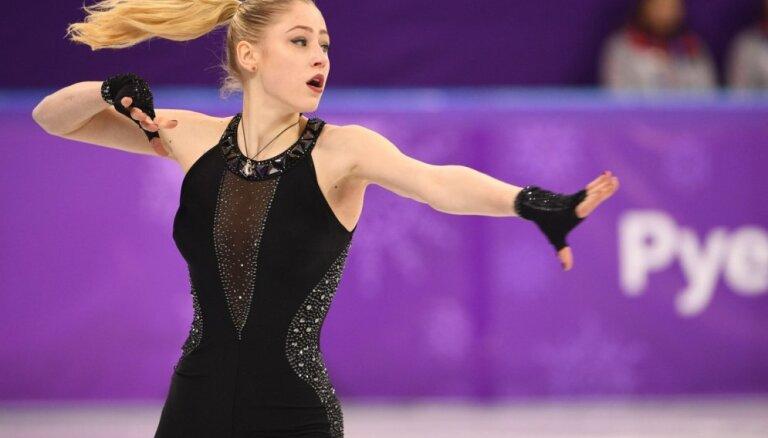 Американские СМИ восхищаются костюмом латвийской фигуристки Дианы Никитиной