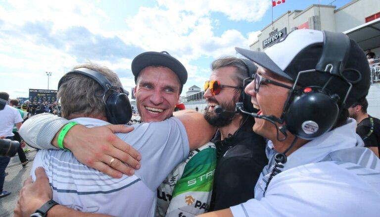 Baumanis izcīna otro vietu pasaules čempionāta posmā