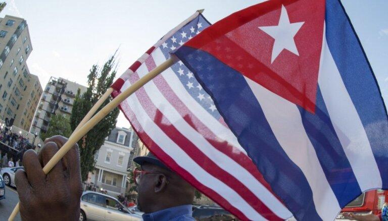 ASV aizliedz lidojumus uz Kubu, izņemot Havanu