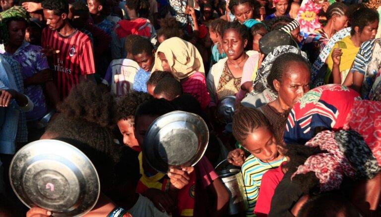 Etiopijas Tigrai reģiona spēki apšaudījuši ar raķetēm Eritrejas galvaspilsētu