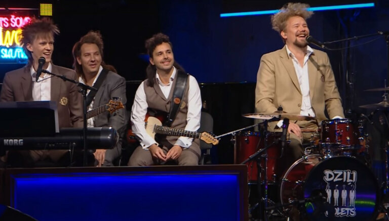 Video: 'Dziļi violets' piedāvā pārklausīto latviešu dziesmu izlasi