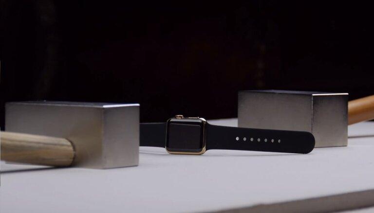ВИДЕО: Золотые Apple Watch за $10 тыс. расплющили неодимовыми магнитами