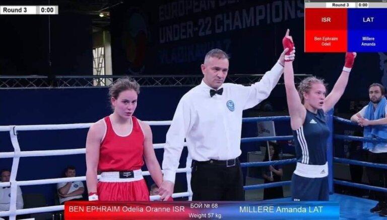 У боксеров Латвии — два пятых места на чемпионате Европы во Владикавказе