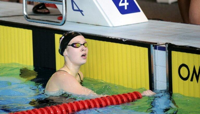 Latvijas jauktās stafetes komandai 15.vieta pasaules čempionāta 4x100 metru kompleksajā peldējumā