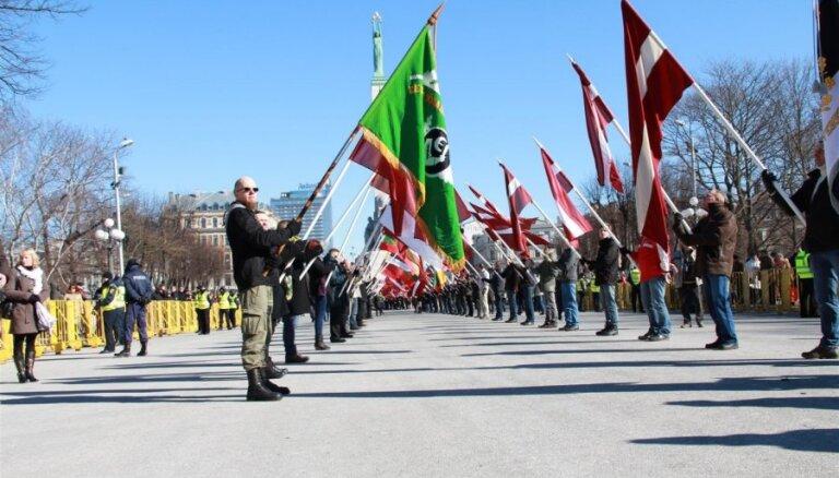 16 марта: у памятника Свободы - три мероприятия памяти легионеров